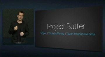 Prezentace Project Butter na loňském Google I / O