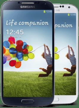 Samsung Galaxy S4 bude v černé a bílé barvě