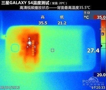 Termální kamera snímá Galaxy S4 - ovšem s odlišným procesorem Samsung Exynos 5