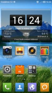 Xiaomi Mi2 plocha