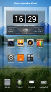Xiaomi Mi2 widgety