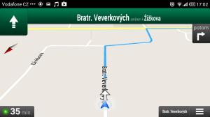 Xiaomi Mi2 Google mapy