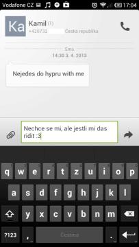 SMS Xiaomi mi2