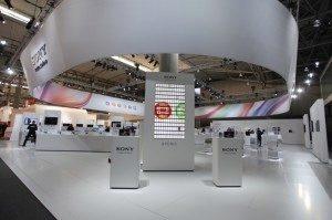Stánek Sony Mobile na letošním Mobile World Congressu