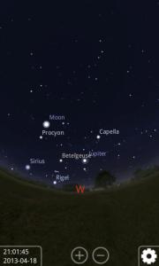 Pak se načte obraz hvězdné oblohy