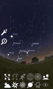 Spojnice mezi hvězdami, tvořícími souhvězdí