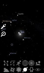 Zobrazení názvů planet