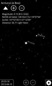 Informace o hvězdě