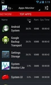 System-Monitor-for-Android-apps
