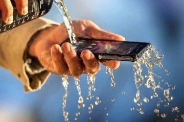 Sony postavila na odolnosti proti vodě část své marketingové kampaně
