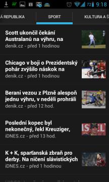 zprávy a počasí: aktuality ze sportu
