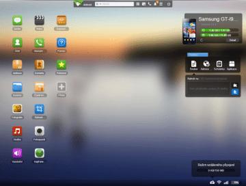 Webové rozhraní AirDroid 2.0