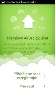 Novinky AirDroid 2.0: prémiové účty