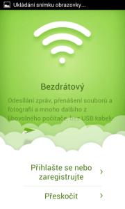 AirDroid komunikuje s počítačem bezdrátově