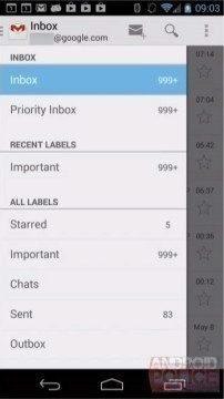 Nová verze Gmailu?