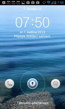 Odemykací obrazovka Huawei Ascend Y300