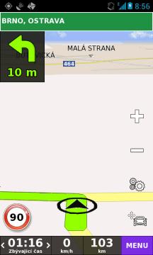 Testovali jsme též navigaci BE-ON-ROAD