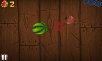 Hra Fruit Ninja běžela v pohodě