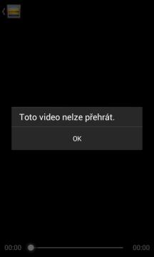 Toto video nelze přehrát
