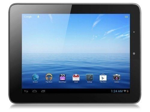 NextBook Premium 8 IPS, pohled zepředu na šířku