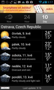 Palmary Weather: 10denní předpověď
