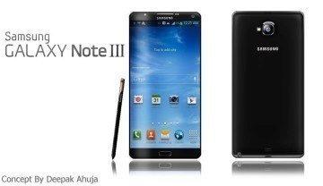 Jedna z představ, jak by mohl vypadat Galaxy Note III