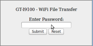 Webové rozhraní bude vyžadovat heslo