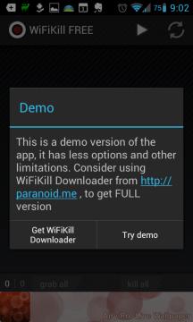 WifiKill: demoverze