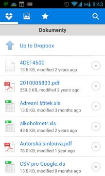 Dropbox ukládá data do cloudu