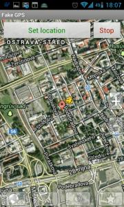 Satelitní mapové podklady