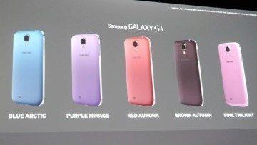 Pět nových barev pro Samsung Galaxy S4