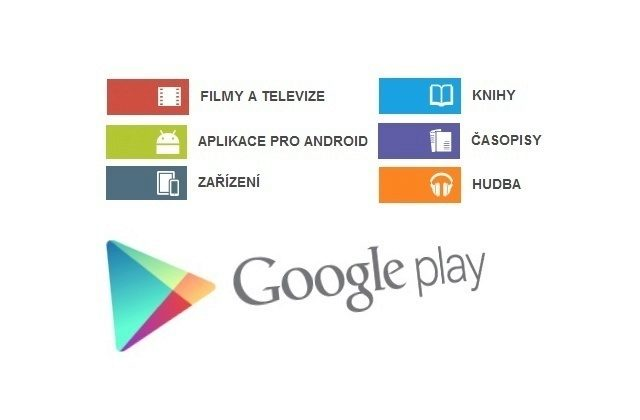 Google Play CR – knihy filmy casopisy hudba