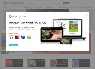 Hudba filmy z Google Play