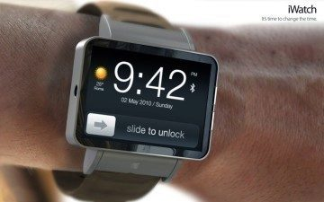 Třeba takto by mohly vypadat hodinky od Applu.