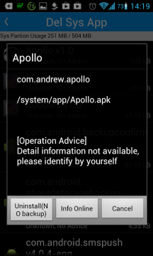 Root App Delete: smazání systémové aplikace