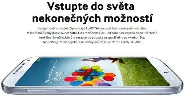 Samsung Galaxy S4 soutěž