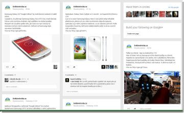 Svět Androida na Google+