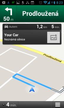 Můžete využít Navigaci Google