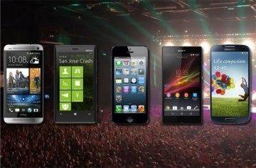 Redaktoři vyrazili na koncert s pěti špičkovými telefony