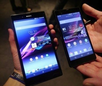 Sony Xperia Z Ultra - srovnání s Xperií Z