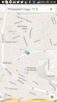 """Vyberte oblast, kterou chcete zpřístupnit a napište do hledání """"OK Maps""""."""