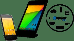 Android 4.3 poskytuje jednotné standardní API pro komunikaci se zařízeními Bluetooth Smart