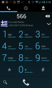 Grafické nadstavby vyhledávání v kontaktech přes číselník umí už dávno