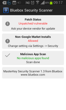 V Androidu jsou bezpečnostní díry