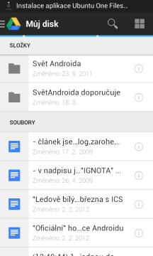 Disk Google: správa souborů v cloudu