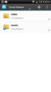 DS cloud: správa souborů v cloudu