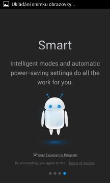 Inteligentní režimy a automatická nastavení