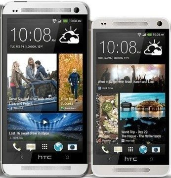 HTC One vedle HTC One mini