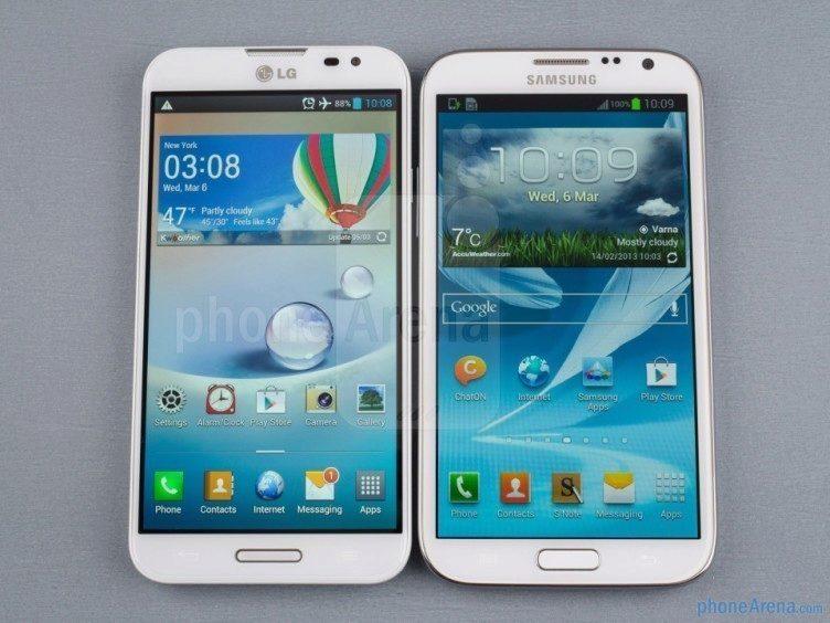 Podoba s přístrojem Samsung Galaxy Note II je více než patrná