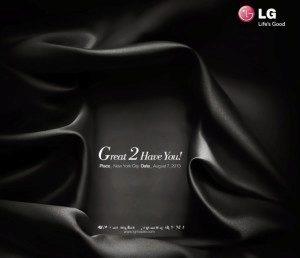 Pozvánka LG na 7. srpna
